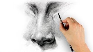 getlinkyoutube.com-How to Draw a Nose - Step by Step
