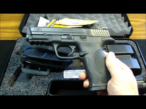 Smith & Wesson M&P 9MM Range and Carry Kit + Shooting Video