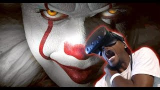 getlinkyoutube.com-HORRIFYING CLOWN SIGHTING | 360 | Creepy Clown Challenge HTC Vive Reaction