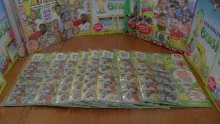 8x RONALDO LIMITED EDITION MULTIPACKS ☆ Topps England FIFA WORLD CUP 2014 Trading Cards