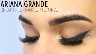 getlinkyoutube.com-Ariana Grande - Break Free (Official) Inspired Makeup Tutorial