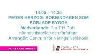 Forskartorget2016 - Peder Herzog Bokbindaren som började bygga