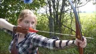 getlinkyoutube.com-Bear AuSable longbow review