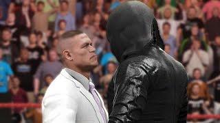 getlinkyoutube.com-WWE 2K17 Story - John Cena Confronts Masked Attacker