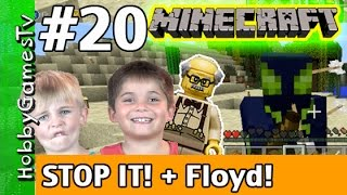 getlinkyoutube.com-Minecraft Floyd #20 Stop It! Xbox 360 Gameplay Hobbykids + Lego Floyd by HobbyGamesTV