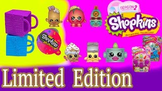 getlinkyoutube.com-Shopkins RARE LIMITED EDITION Season 1  2 Mystery Surprise Blind Basket Opening Toy Unboxing