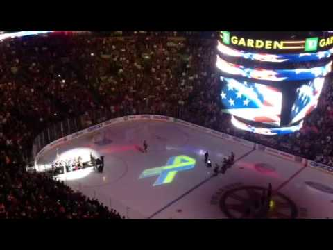 Boston Fans Singing the National Anthem at Bruins-Sabres Game Was Awesome [Video] | The Big Lead