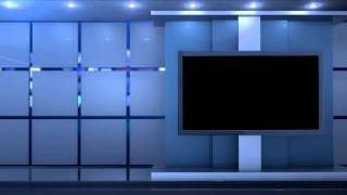 getlinkyoutube.com-Clean Studio Virtual Background Virtual Set