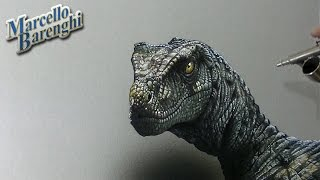 getlinkyoutube.com-Velociraptor Drawing - 3D Art