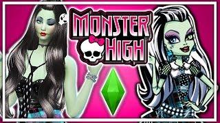 getlinkyoutube.com-The Sims 4 Create a Sim: Frankie Stein | Monster High Inspired