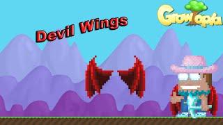 getlinkyoutube.com-Growtopia - GameGuyDK Gets Devil Wings!