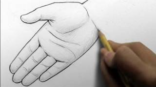 getlinkyoutube.com-How to Draw Hands, 2 Ways (open palm, writing)