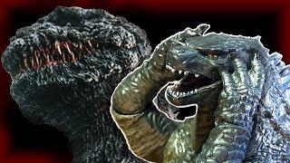 getlinkyoutube.com-Godzilla Watches the Shin Gojira Trailer (Godzilla stop-motion animation)