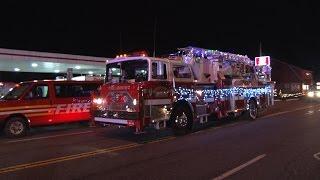 getlinkyoutube.com-2016 Ulster Hose Co. 5 Annual Christmas Parade & Tree Lighting  12/3/16