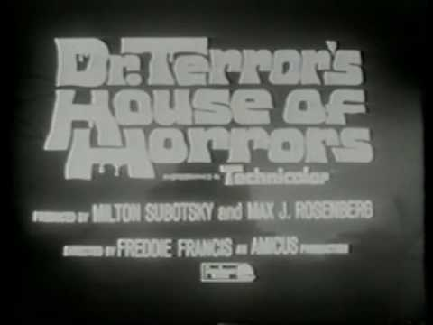 Horror & Fantasy Movies of the 1960s TV trailers
