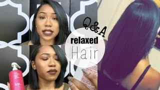 getlinkyoutube.com-Hair Q&A: Bob Haircut, Regrets? Texlaxed or Relaxed? Staple Hair Products   ESSNTL