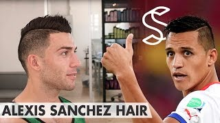 getlinkyoutube.com-Alexis Sánchez Hair ★ Professional hairstyling tips for men