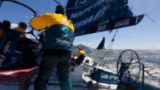 getlinkyoutube.com-V&A Waterfront Cape Town In-Port Race Full Live Replay| Volvo Ocean Race 2011-12