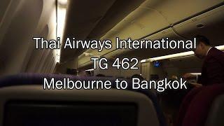 getlinkyoutube.com-Thai Airways Boeing 777-200ER Flight Report: TG 462 Melbourne to Bangkok