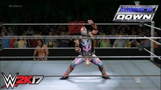 getlinkyoutube.com-WWE 2K17 - Kalisto vs. Neville: U.S. Championship - Smackdown
