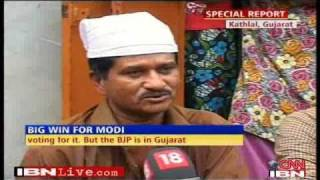 getlinkyoutube.com-Narendra Modi Storms Congress Baston!: Snatches Muslim Populated KATHLAL Assembly Seat