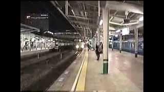 getlinkyoutube.com-山陽本線【岡山駅】寝台特急あさかぜ発車前にサンライズ瀬戸が到着