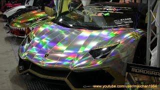 getlinkyoutube.com-世界最強!!諸星一家 x Boom Craft x CarGuy - カスタム・ランボルギーニ - 東京オートサロン2015