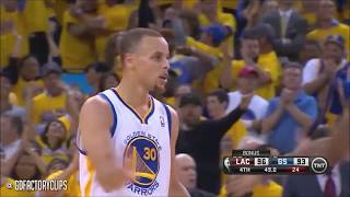 Stephen Curry clutch shots & game winners