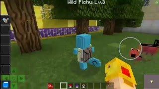 getlinkyoutube.com-Minecraft PE 0.16.0 Mods - PokeDroid Mod - Pokemon Con Sonido! - Pocket Edition - APK