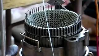 getlinkyoutube.com-Antique Sock Knitting Machines