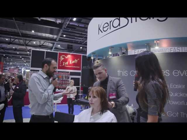 kerastraight at salon International