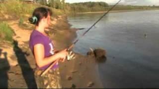 getlinkyoutube.com-Рыбалка на реке Чулым