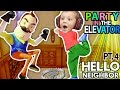 HELLO NEIGHBOR, CAN WE PARTY IN YOUR ELEVATOR? Scary FNAF Theme Park House? FGTEEV Part 4 Alpha 1