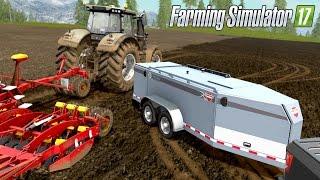 getlinkyoutube.com-Farming Simulator 17 - MY VALTRA HAS RUN OUT OF FUEL! Thunder Creek FST 990 Mobile Fuel Tank