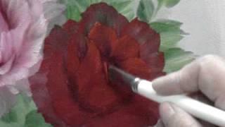 getlinkyoutube.com-NO3 Red Rose Oil Painting
