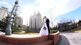 Utah Wedding Video  |  Rachel & Connor - SLC Temple Wedding Highlight Film