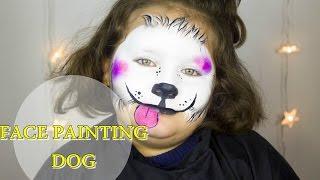 getlinkyoutube.com-Face Paintig con Faby. IL CANE