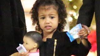 getlinkyoutube.com-X17 EXCLUSIVE - North West Gets New Baby Just Like Mom Kim Kardashian!