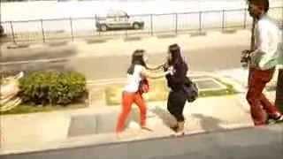 getlinkyoutube.com-cewe berantem di pingghir jalan