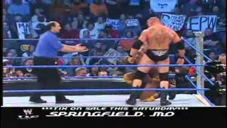 getlinkyoutube.com-Brock Lesnar VS Orlando Jordan SD, 29/01/2004