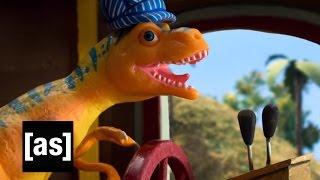 getlinkyoutube.com-Dinosaur Train | Robot Chicken | Adult Swim