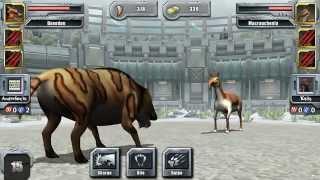 getlinkyoutube.com-Jurassic Park Builder Glacier Battle Tournament Gold Arena
