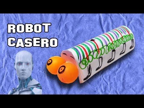 Como Hacer un Robot Casero   Experimentos Caseros