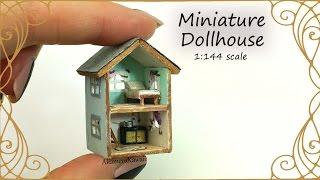 getlinkyoutube.com-Dollhouse for Dolls; Miniature Dollhouse Tutorial