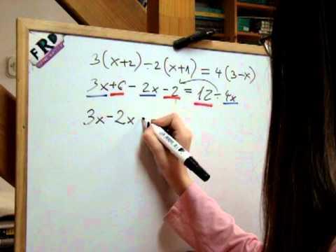 Mala škola matematike za šesti razred - LINEARNE jednadžbe vježba br.112.