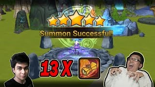 getlinkyoutube.com-Summoners War Indonesia - BUKA 13 MS DAPAT 1 NB5 KK!