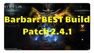 getlinkyoutube.com-Barbar: Der beste Build für Patch 2.4.1 (WW Build, Diablo 3)