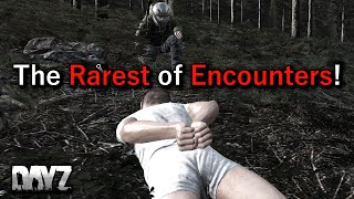 getlinkyoutube.com-The Rarest of Encounters! DayZ Standalone Gameplay on 0.58...