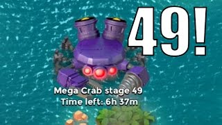 getlinkyoutube.com-FINAL ATTACKS! | Boom Beach | MEGA CRAB STAGE 47 -49