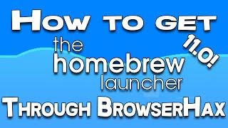 getlinkyoutube.com-Installing Homebrew Using BrowserHax: Simple Tutorial! 11.0!